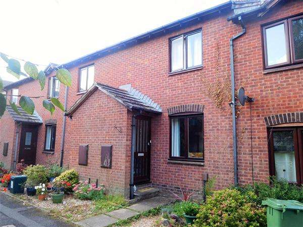 2 Bedrooms Terraced House for sale in Nurseries Close, Topsham