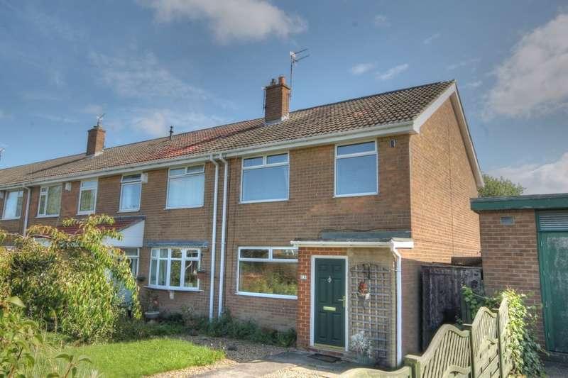 3 Bedrooms Property for sale in Rowedge Walk, Westerhope, Newcastle Upon Tyne, NE5