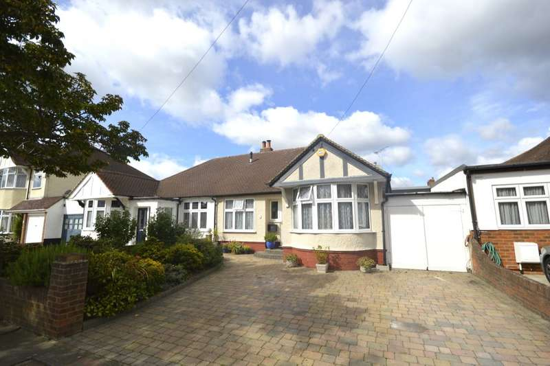 3 Bedrooms Semi Detached Bungalow for sale in Chester Avenue, Whitton, Twickenham, TW2
