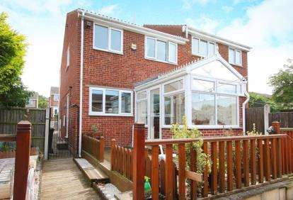 3 Bedrooms Semi Detached House for sale in Nethermoor Close, Killamarsh, Sheffield, Derbyshire