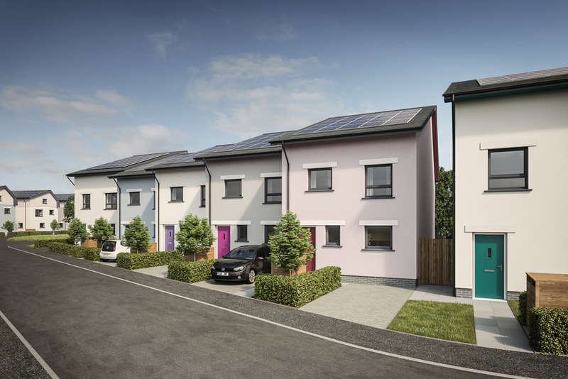 4 Bedrooms Terraced House for sale in Roborough Park Eco Village, Plymouth