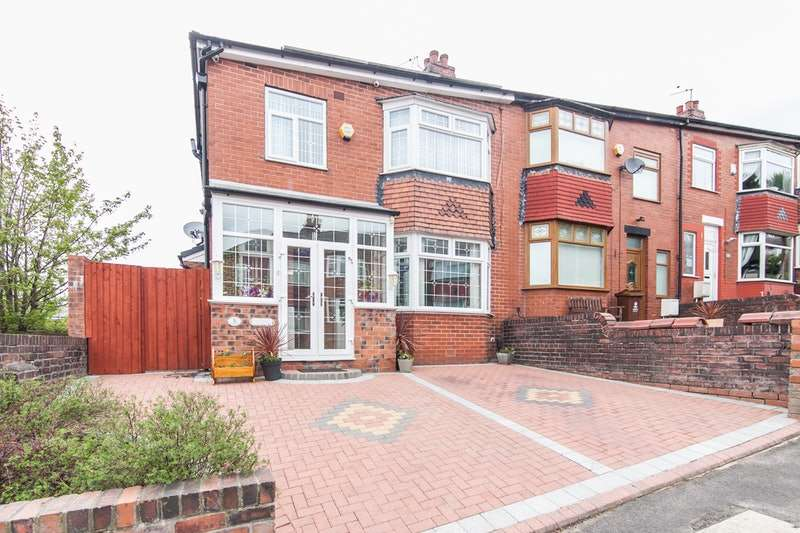 4 Bedrooms End Of Terrace House for sale in Penrith Avenue, Oldham, Greater Manchester, OL8