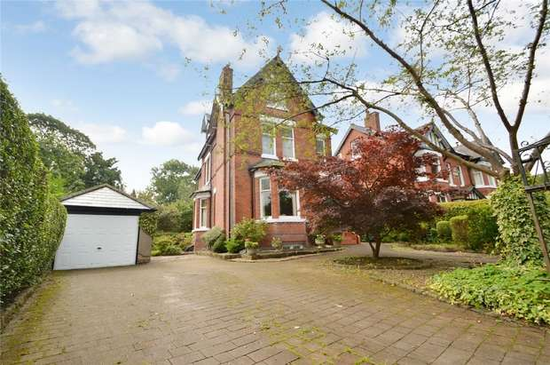 5 Bedrooms Detached House for sale in The Crescent, Davenport, Stockport, Cheshire