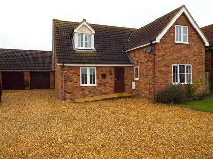 Bungalow for sale in Nordelph, Downham Market, Norfolk