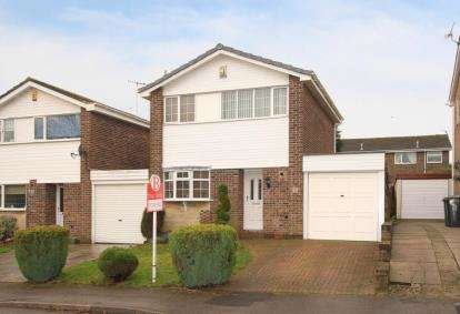 3 Bedrooms Detached House for sale in Sherwood Road, Dronfield Woodhouse, Dronfield, Derbyshire