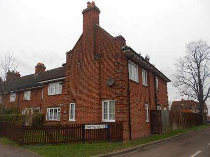 3 Bedrooms End Of Terrace House for sale in North Drive, Shortstown, Bedford, Bedfordshire