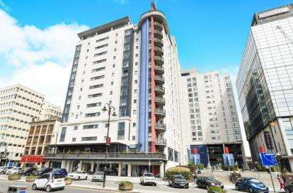 2 Bedrooms Flat for sale in Landmark Place, Churchill Way, Cardiff, Caerdydd