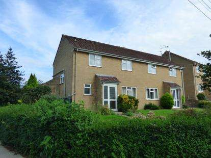 3 Bedrooms Semi Detached House for sale in Bower Hinton, Martock, Somerset