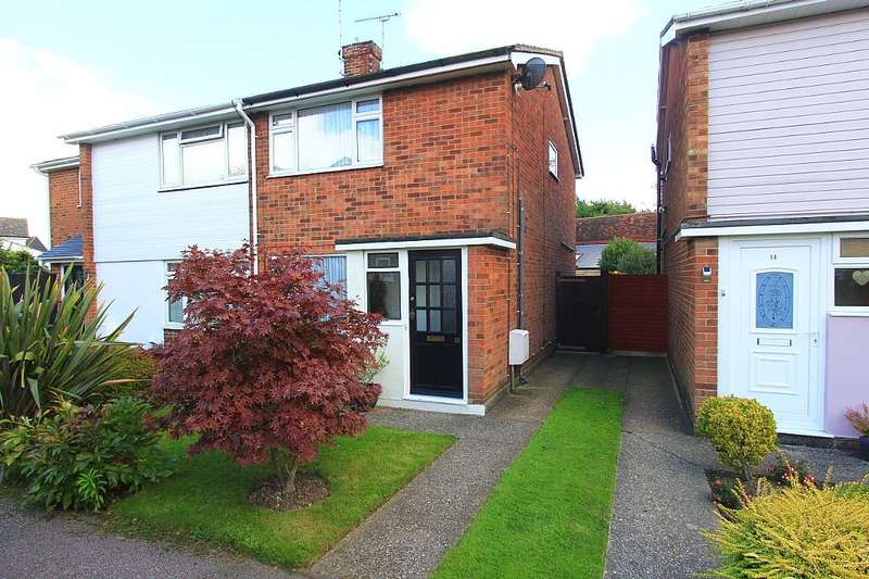 2 Bedrooms Semi Detached House for sale in Talisman Walk, Tiptree, Colchester, Essex, CO5 0DU
