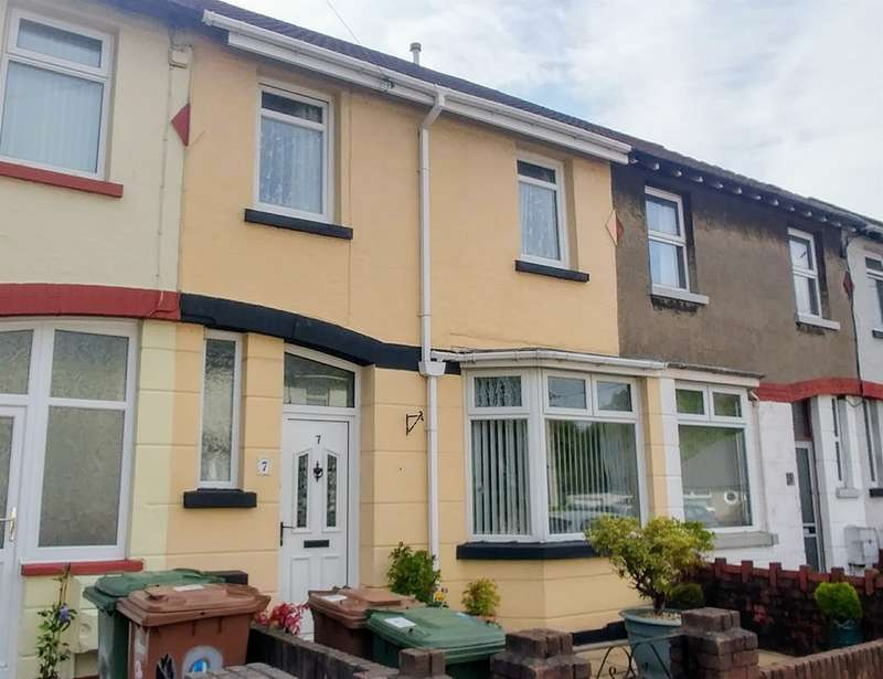 2 Bedrooms Terraced House for sale in Rhos Street, Caerphilly