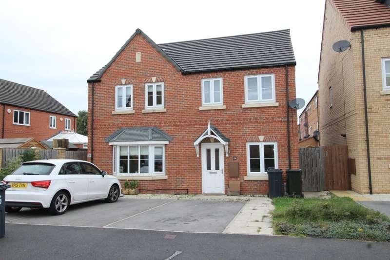 2 Bedrooms Semi Detached House for sale in Clarke Avenue, Dinnington, Sheffield, S25
