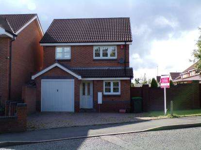 3 Bedrooms Detached House for sale in Woodruff Way, Tame Bridge, Walsall, .