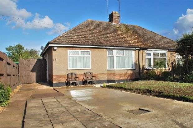 2 Bedrooms Semi Detached Bungalow for sale in Park Lane, Duston, Northampton NN5 6QD