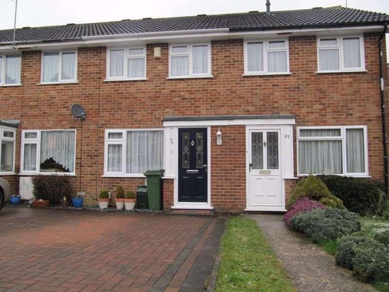 2 Bedrooms Terraced House for sale in Porter Road, Brighton Hill, Basingstoke, RG22