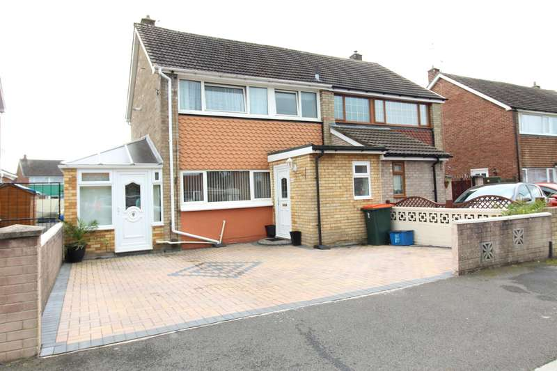 3 Bedrooms Semi Detached House for sale in Hillview Crescent, Newport, NP19