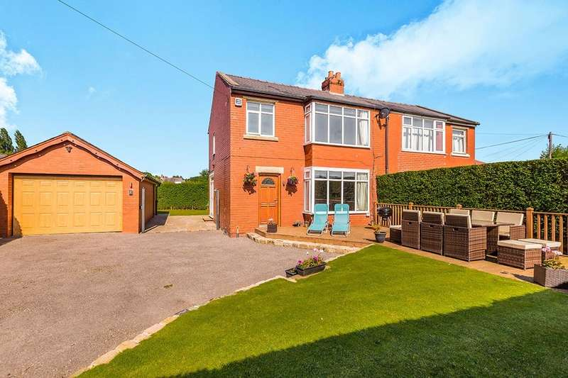 3 Bedrooms Semi Detached House for sale in Brindle Road, Bamber Bridge, Preston, PR5