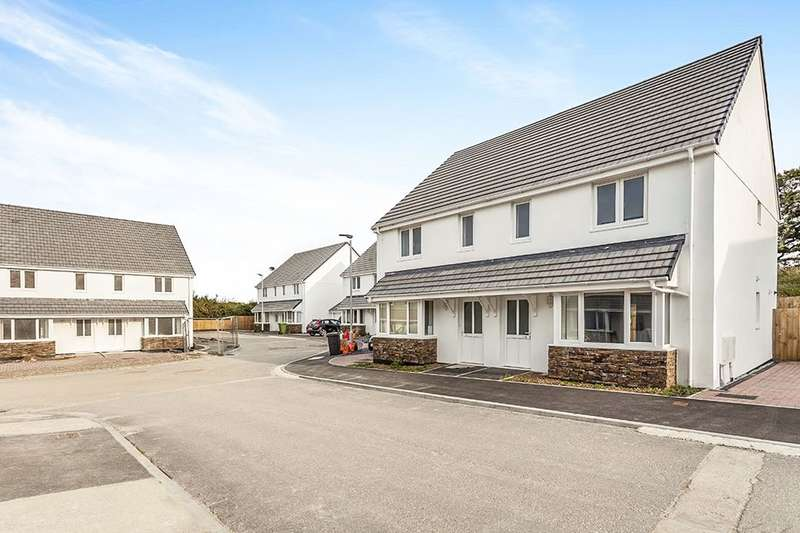 3 Bedrooms Semi Detached House for sale in Copper Meadows Relistian Lane, Gwinear, Hayle, TR27