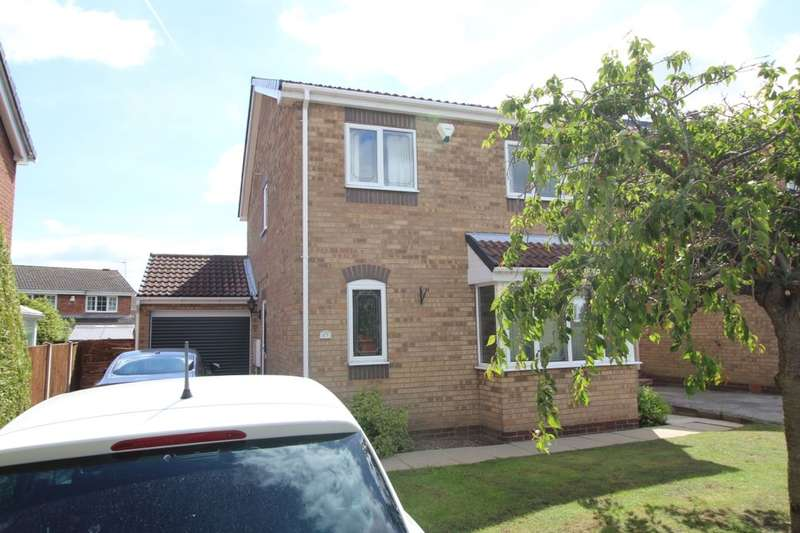 4 Bedrooms Detached House for sale in Wheat Croft, Worksop, S81