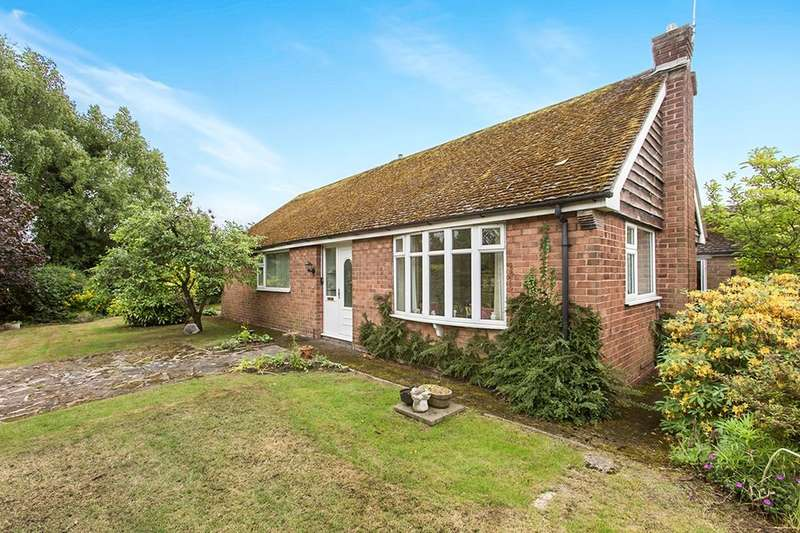 3 Bedrooms Detached Bungalow for sale in Norley Road, Cuddington, Northwich, CW8