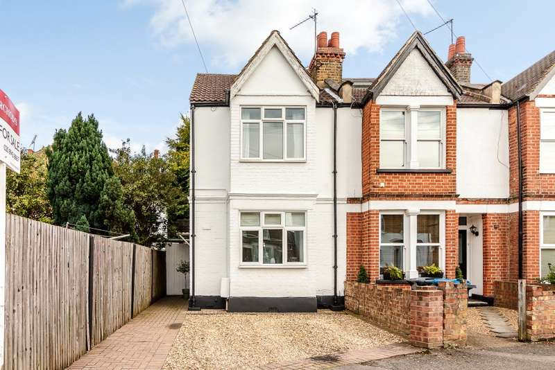 3 Bedrooms End Of Terrace House for sale in New Malden