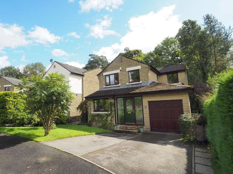 4 Bedrooms Detached House for sale in Wood Gardens, Hayfield, High Peak, Derbyshire, SK22 2HQ