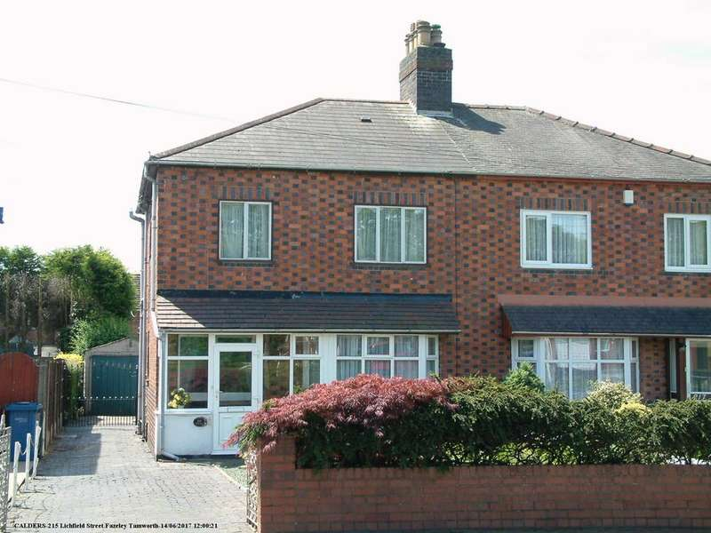 2 Bedrooms Semi Detached House for sale in Lichfield Street, Fazeley, B78 3QF