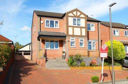 4 Bedrooms Detached House for sale in Tansley Road, North Wingfield, Chesterfield, Derbyshire