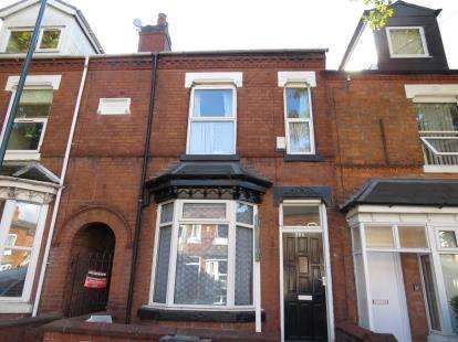 4 Bedrooms Terraced House for sale in Tiverton Road, Selly Oak, Birmingham, West Midlands