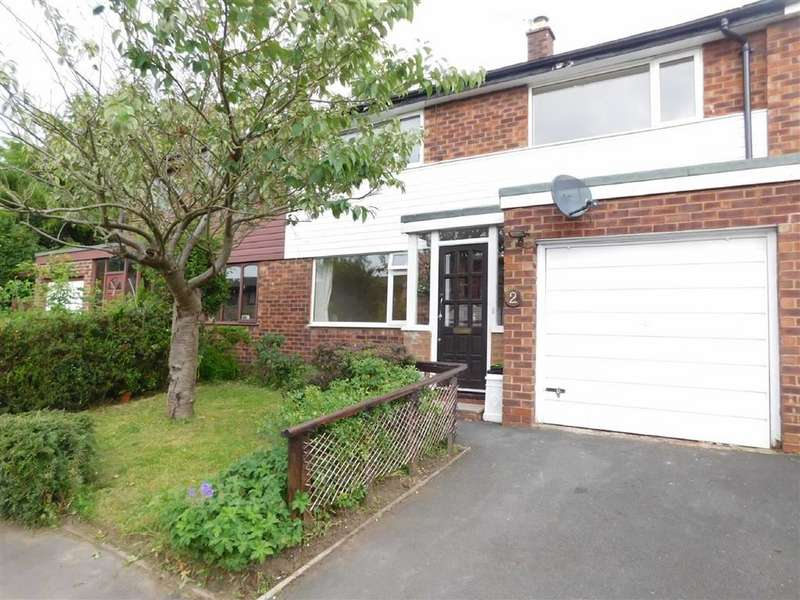 3 Bedrooms Semi Detached House for sale in Catterwood Drive, Compstall, Stockport
