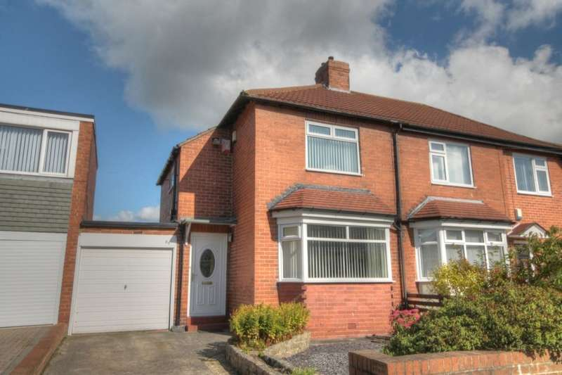 2 Bedrooms Semi Detached House for sale in Western Avenue, West Denton, Newcastle Upon Tyne, NE5