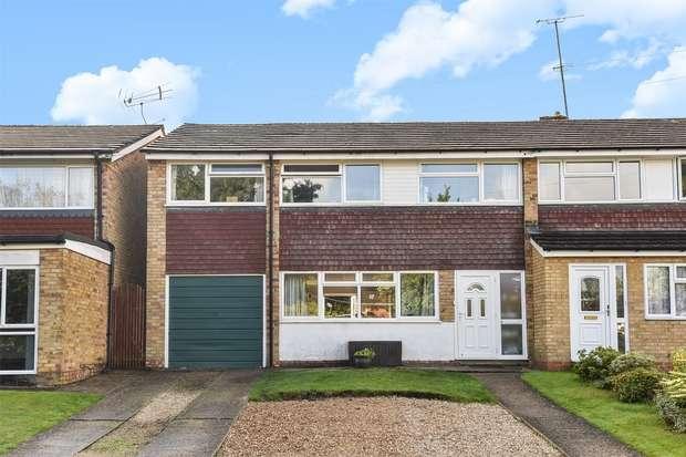 4 Bedrooms Semi Detached House for sale in Lyneham Road, CROWTHORNE, Berkshire