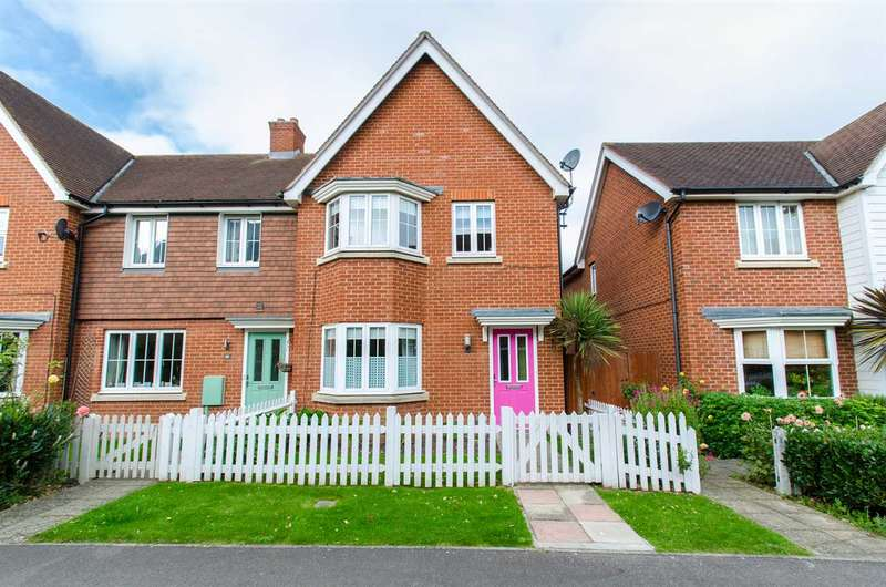 3 Bedrooms End Of Terrace House for sale in Rose Walk, Sittingbourne