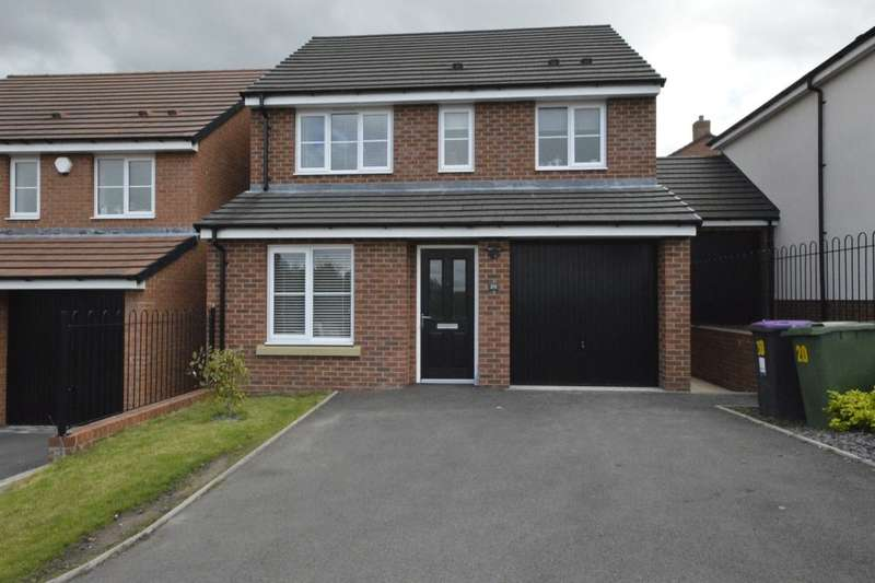 3 Bedrooms Detached House for sale in Cover Drive, St. Georges, Telford, TF2