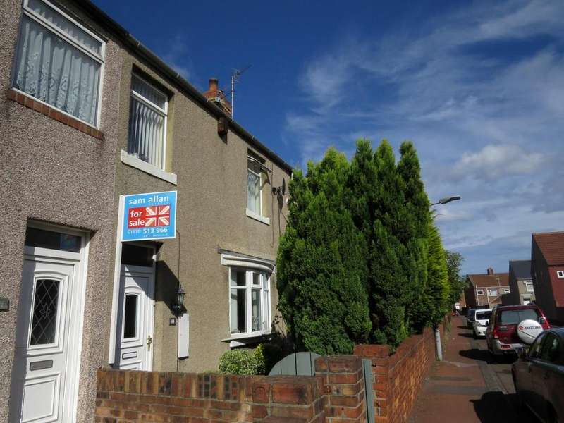 3 Bedrooms Terraced House for sale in Castle Terrace, Ashington