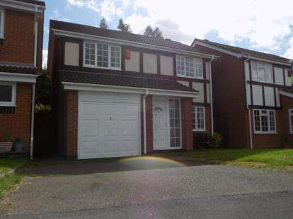 4 Bedrooms Detached House for sale in Wareing Drive, Birmingham, West Midlands