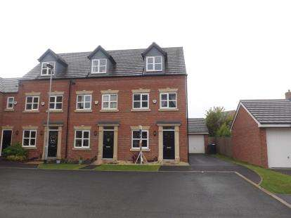3 Bedrooms End Of Terrace House for sale in Moniven Close, Warrington, Cheshire