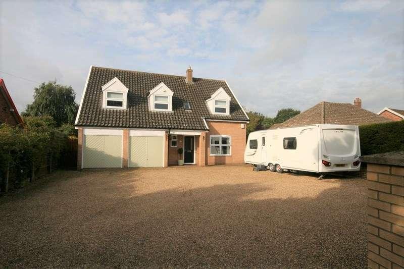 4 Bedrooms Detached House for sale in Ellingham Road, Attleborough