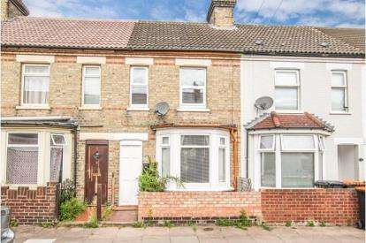2 Bedrooms Terraced House for sale in Derwent Place, Bedford, Bedfordshire