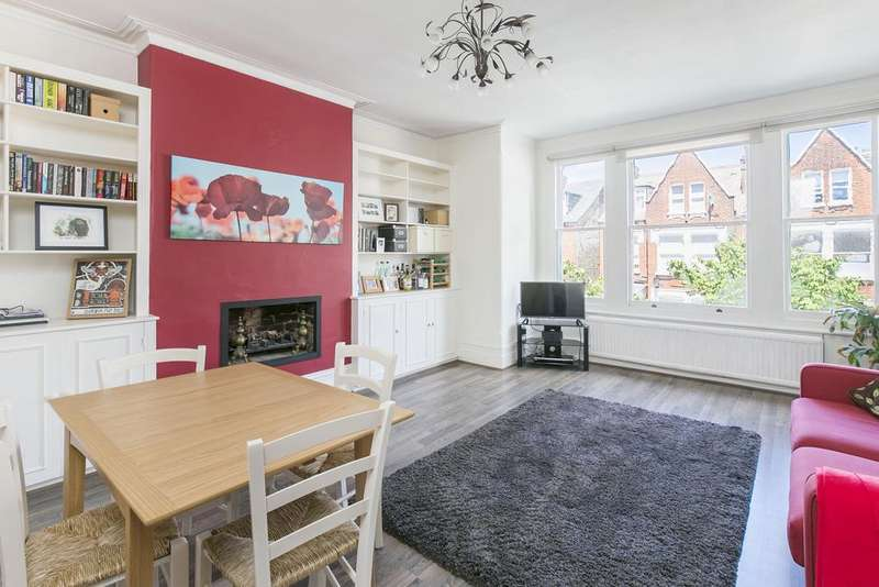 2 Bedrooms Flat for sale in Huron Road, SW17