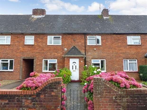 3 Bedrooms Terraced House for sale in Ferris Mead, Warminster