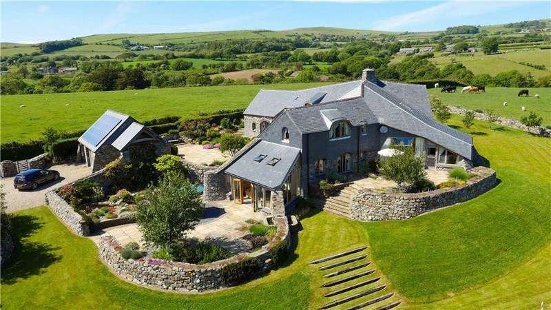 5 Bedrooms Detached House for sale in Llanegryn, Tywyn, Gwynedd