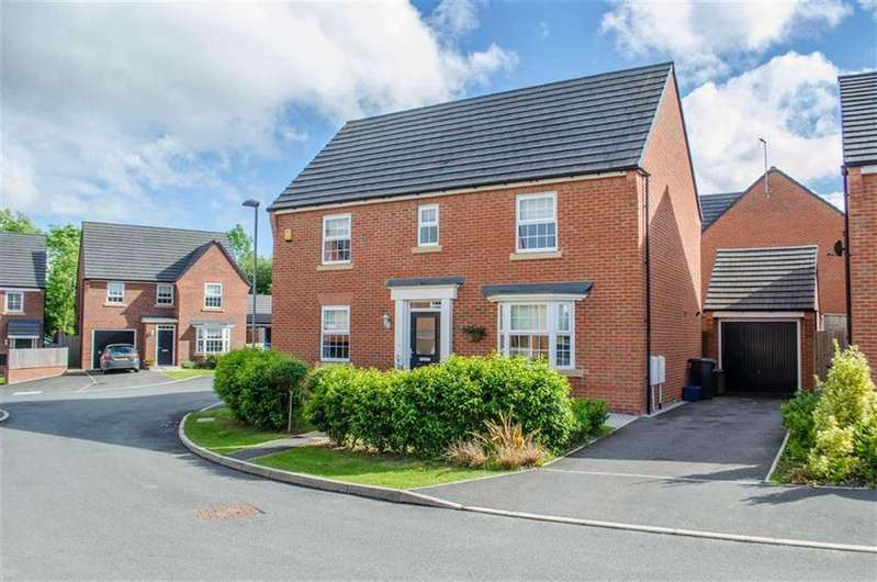 4 Bedrooms Detached House for sale in Cae Babilon, Higher Kinnerton, Chester