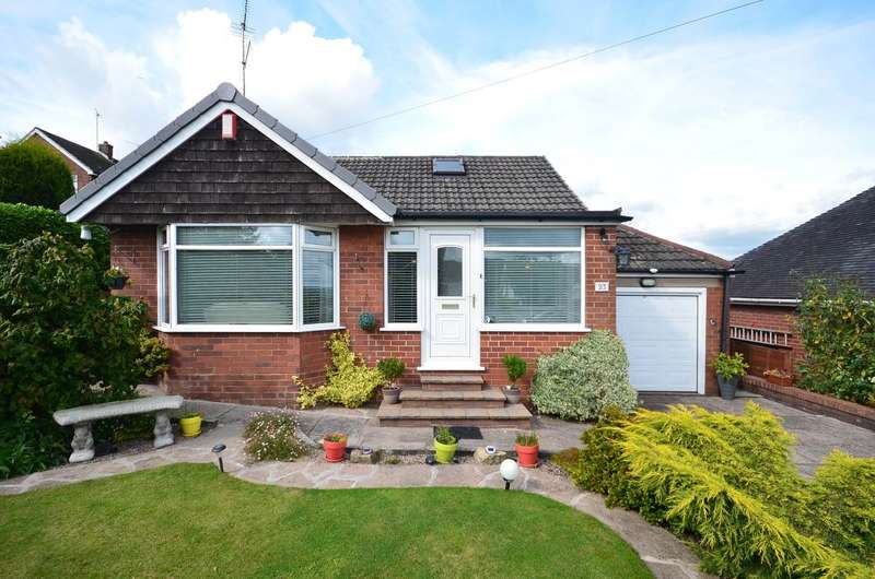 2 Bedrooms Detached Bungalow for sale in Golborn Avenue, ST3 7LT
