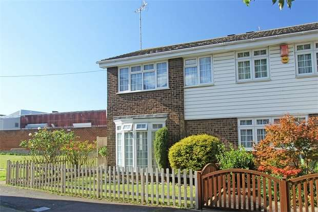 3 Bedrooms End Of Terrace House for sale in Periwinkle Close, Sittingbourne, Kent