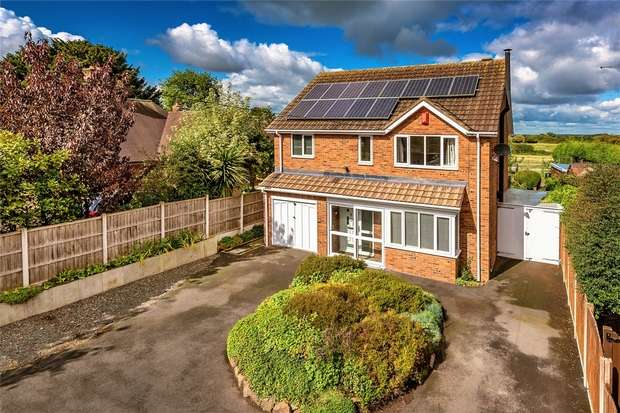 4 Bedrooms Detached House for sale in Brentfield House, Wellington Road, Muxton, Telford, Shropshire