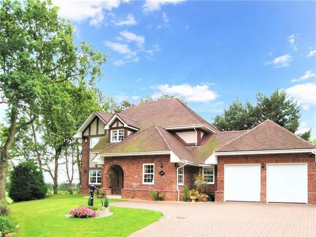 5 Bedrooms Detached House for sale in The Keep, Ironbridge Road, Madeley, Shropshire