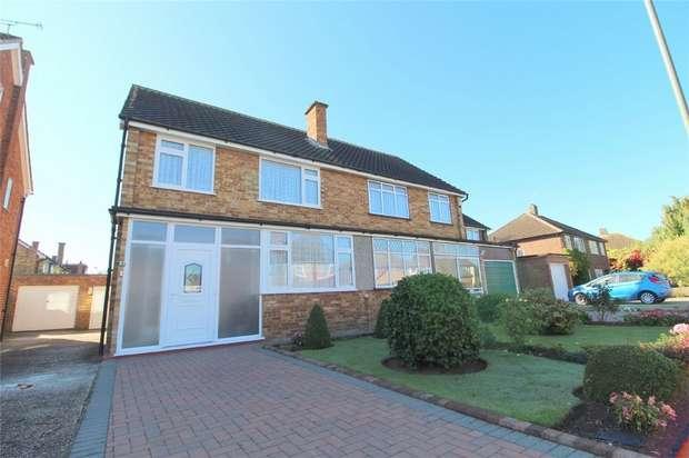 3 Bedrooms Semi Detached House for sale in Lynegrove Avenue, Ashford, Surrey