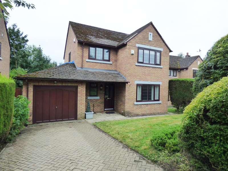 4 Bedrooms Detached House for sale in Church Meadow, Hyde, Tameside