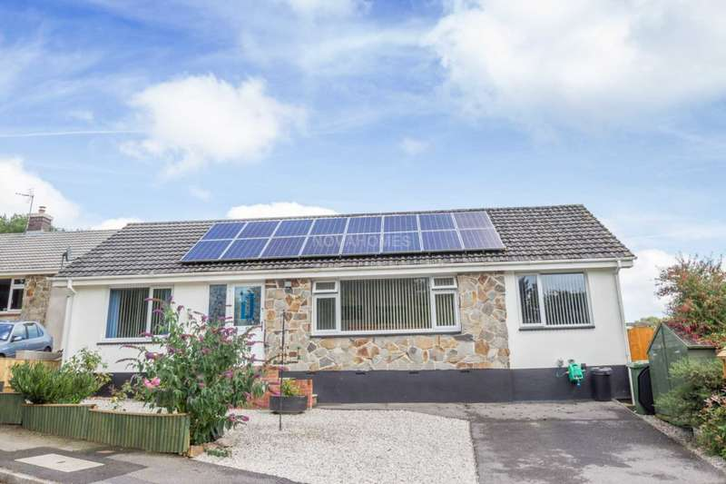 3 Bedrooms Detached Bungalow for sale in Edgecombe Way, St Ann`s Chapel, PL18