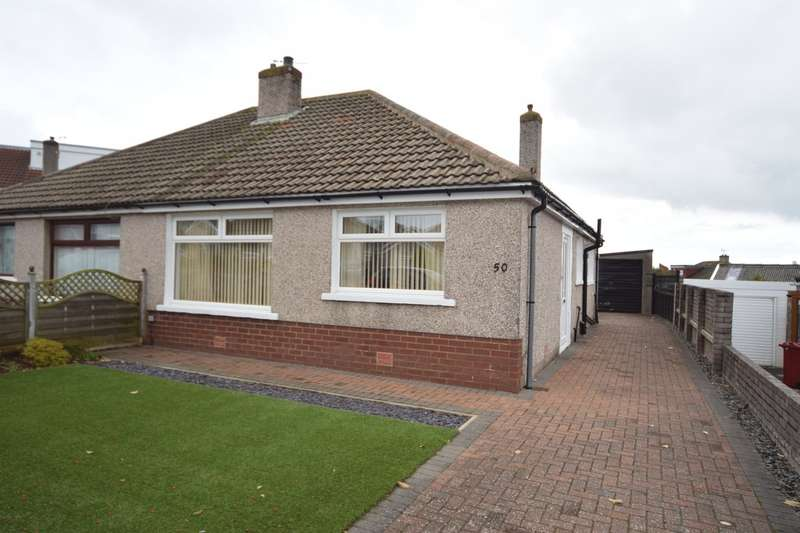 2 Bedrooms Semi Detached House for sale in Portland Crescent, Barrow-in-Furness, Cumbria, LA14 4ET